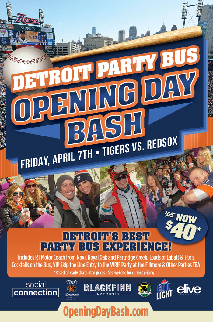 Opening Day Party Bus 4.7.17